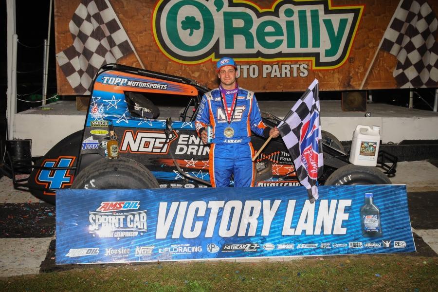 Justin Grant, TOPP Motorsports, Nos Energy Drink, USAC, Bubba Raceway Park